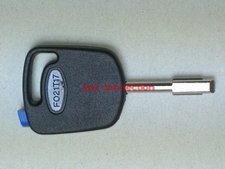 Ford Key Black Fob With Blue Chip Tibbe Blade Vehicle Model Application Various Models  Including Mondeo  Focus All Years