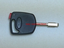 Ford Key Black Fob With Red Chip Tibbe Blade Vehicle Model Application Various Models  Including Fiesta Ka Modeo Puma Etc